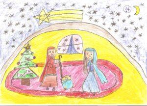 El belen de la Navidad