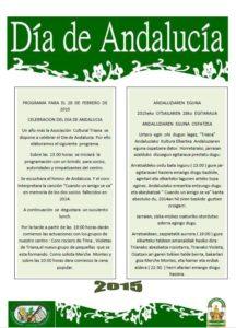 programa Dia de Andalucia